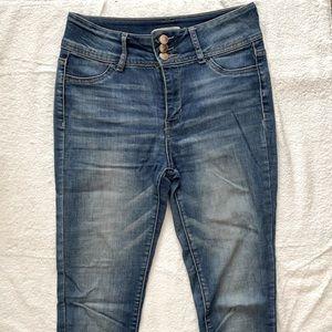 URBAN PLANET Blue Skinny Jeans